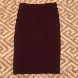 NWT Zara body con midi skirt